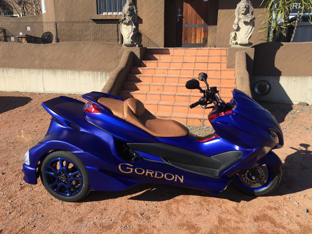 GORDON マジェスティー 250 トライク