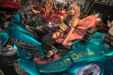GORDON TRIKE Tokyo Auto Salon 2018 Cosplay
