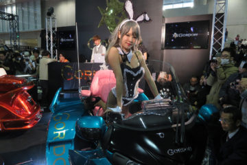 GORDON TRIKE Tokyo Auto Salon 2018 Karin
