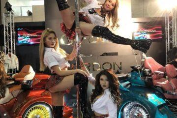 GORDON TRIKE Tokyo Auto Salon 2018 pole dance