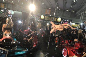 GORDON TRIKE Tokyo Auto Salon 2018 poledance