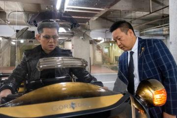 TRIKE - GORDON CEO Isamu Hagiwara with Koji Matoba - CONFLICT behind the scenes