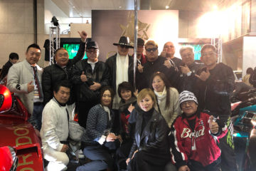 GORDON TRIKE Tokyo Auto Salon 2018 owners