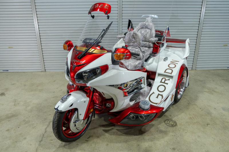 GORDON GL1800 TRIKE Type IV - Red & White