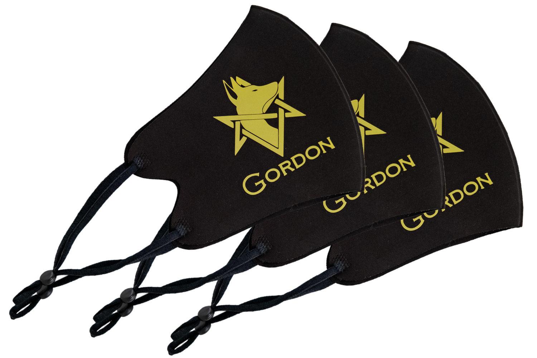 GORDONマスク ブラック 3枚セット
