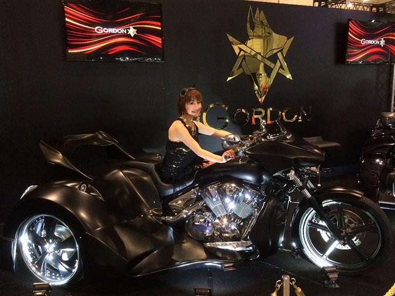 Gordon Trike Tokyo Auto Salon 2014